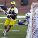Michigan midfielder Andrew Mosko of Bethesda