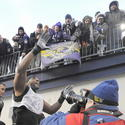 Ray Lewis and fans