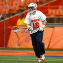 Syracuse goalie Matthew Lerman