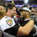 Dennis Pitta, Ray Lewis