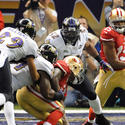 Ray Lewis, Courtney Upshaw