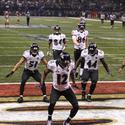 4. Postseason hero Jacoby Jones will never have to buy a drink in Baltimore again