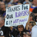 Sign about Art Modell