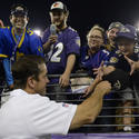 John Harbaugh and Ravens fans