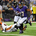 Ray Rice scores touchdown
