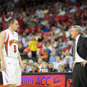 Gary Williams yells at Eric Hayes