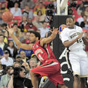 Sean Mosley gets a rebound