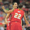 Greivis Vasquez and Adrian Bowie