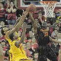 Terps battle for a rebound