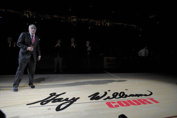 Dedication of the court at Comcast to now be the Gary Williams Court.