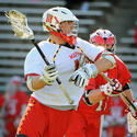 Maryland midfielder Landon Carr
