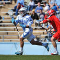 North Carolina attackman Marcus Holman (Gilman)