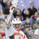 Terps attackman Grant Catalino