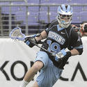 Johns Hopkins midfielder Brian Christopher