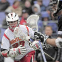 Terps attackman Ryan Young