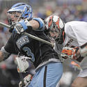 Johns Hopkins defenseman Andrew Miller