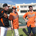 Buck Showalter, Hank Haney, Michael Phelps