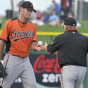Nick Bierbrodt, Buck Showalter