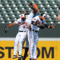 Endy Chavez, Adam Jones, Nick Markakis