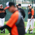 Buck Showalter and coaches