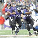 Joe Flacco, Michael Oher, Marshal Yanda