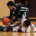 New Town vs. Randallstown in boys basketball