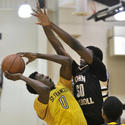 St. Frances vs. John Carroll in boys basketball