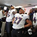 Ray Lewis, Terrell Suggs, Ray Rice, Vonta Leach