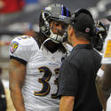 Christian Thompson, John Harbaugh