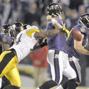 Joe Flacco, Lawrence Timmons
