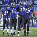 Ed Reed, Jimmy Smith, Ray Lewis