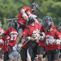 Maryland 13, No. 8 seed North Carolina 6