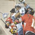 No. 5 Maryland 13, No. 3 North Carolina 5