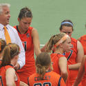 Gary Gait and Syracuse women's team