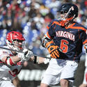 Cornell's Mike Bronzino, Virginia attackman Steele Stanwick