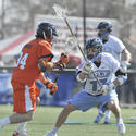 No. 9 Johns Hopkins 12, No. 2 Virginia 11
