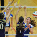 Smithsburg vs. Sparrows Point volleyball