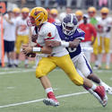 No. 2 Calvert Hall at No. 9 Mount St. Joseph football