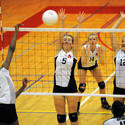 Seton Keough vs. Archbishop Spalding volleyball