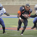 Morgan State running back Devan James