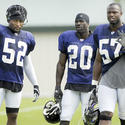 Ray Lewis, Ed Reed, Bart Scott