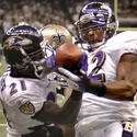 Chris McAlister, Ray Lewis