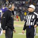 John Harbaugh pleads his case