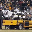 McGahee carted off field