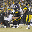 Roethlisberger goes down