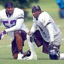 Ray Lewis, Deion Sanders