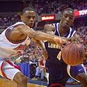 Juan Dixon steals the ball