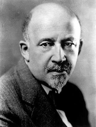 W.E.B. Du Bois, civil rights leader, scholar and one of the founders of the NAACP