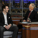 Joe Flacco, David Letterman