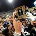 No. 1 Gilman celebrates win over No. 2 Calvert Hall